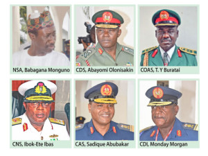 National Assembly confirms appointments of Service Chiefs