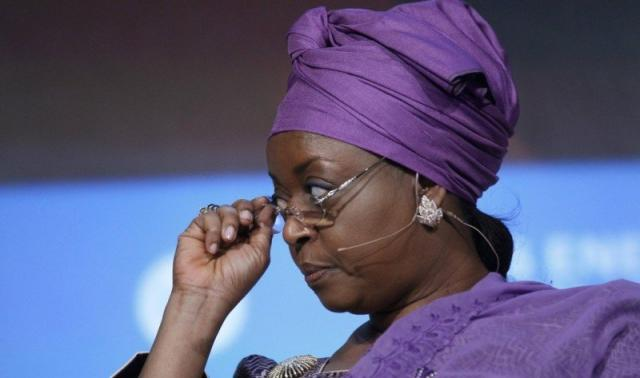 Diezani In London
