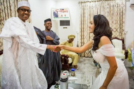 Buhari: I am not shy around women/