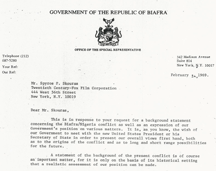 The Untold Story of Biafra War (From American Secret Documents) Part 2