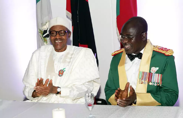Between Buhari And Buratai