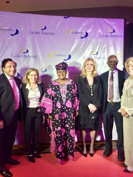 Dr. Ngozi Okonjo-Iweala​ receives the Global Fairness Award