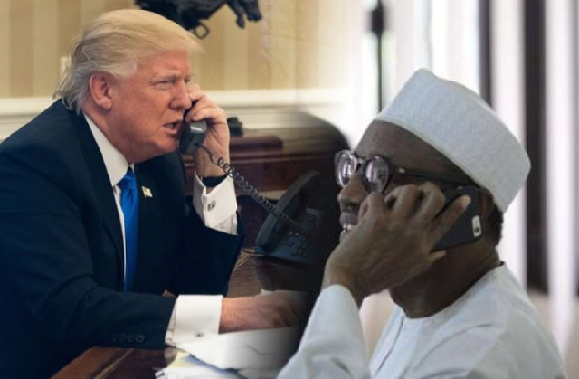 White House confirms Trump's call with Buhari, releases readout