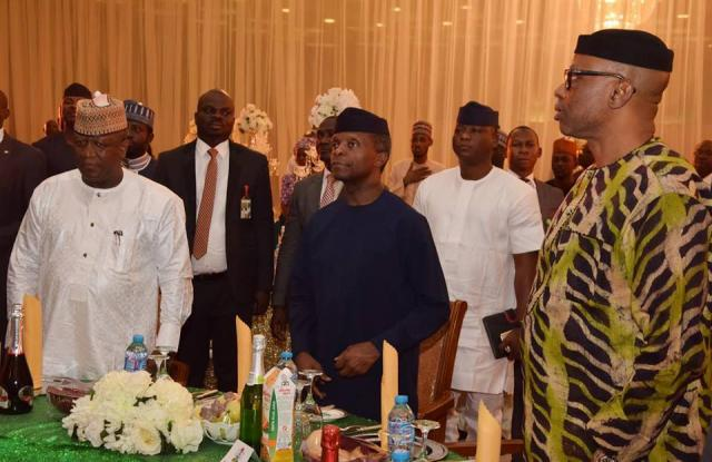 Osinbajo meets with governors over Nigeria's troubled economy; read what they discussed