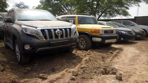 EFCC recovers 17 vehicles from ex-CG of Customs, Abdullahi Dikko