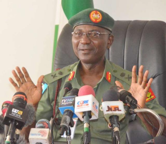 Nigerian military denies suspending admission of female cadets