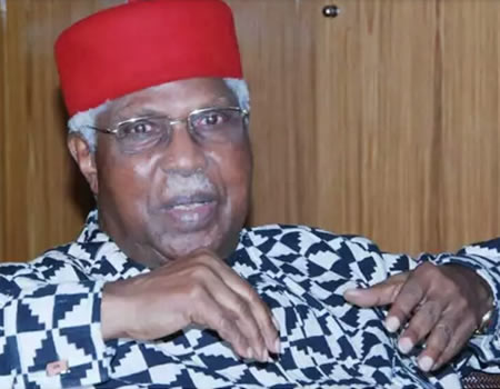 Buhari, Shagari, others mourn as Ekwueme dies in London hospital