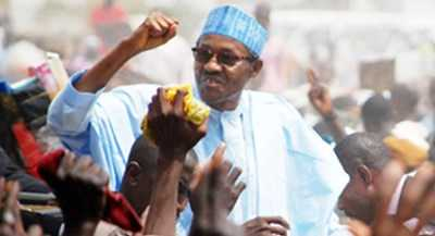 Buhari 'overwhelmed' by crowd that welcomed him to Kano, says next election will be walkover