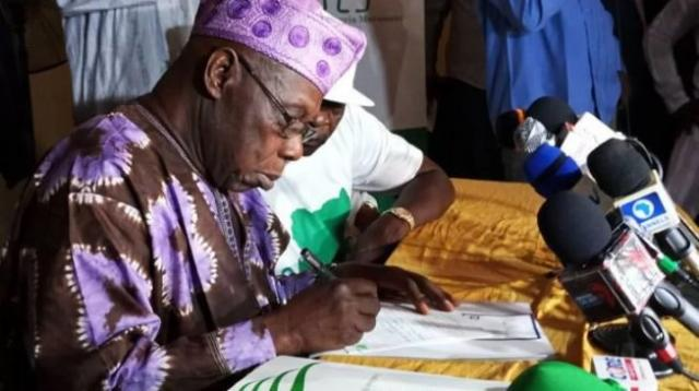 Obasanjo officially joins CNM, states what would make him dump coalition