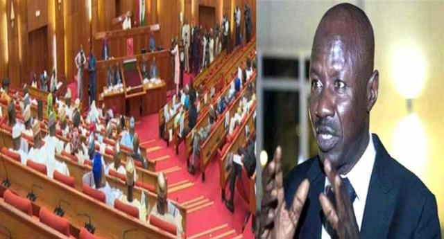 Senate asks Buhari to act fast as court affirms Magu's rejection