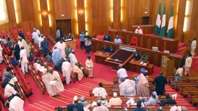 Pro-Buhari senators attack Saraki, stage walk-out over reordering of elections