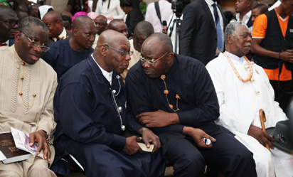 Jonathan reveals how Dickson made Obasanjo visit Otuoke
