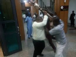 Senate mace snatched by hoodlums, Ekweremadu gives IGP, DSS DG 24hours to ensure its return